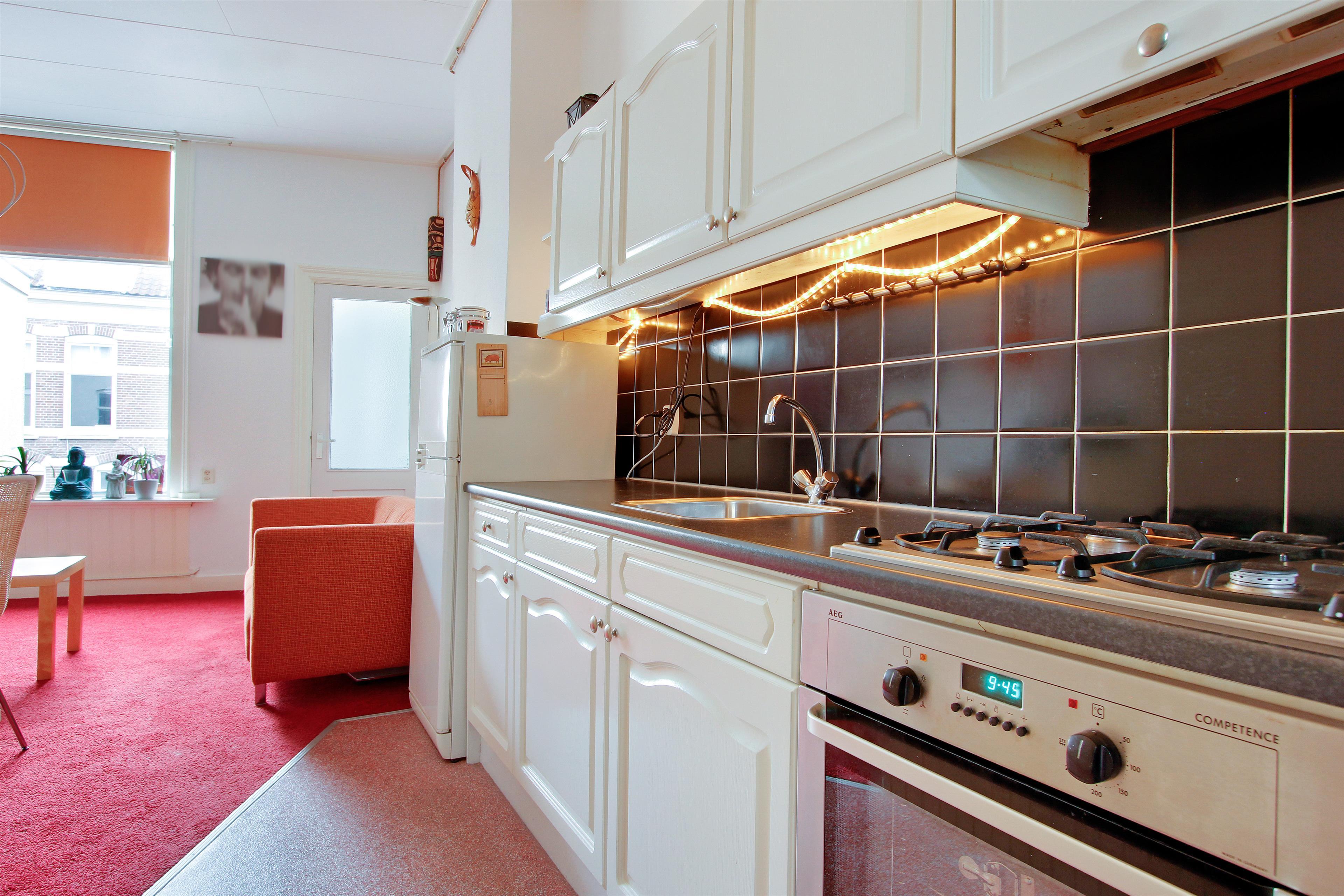 Te koop roukensstraat 33 nijmegen hendriks makelaardij - Gezellige keuken ...